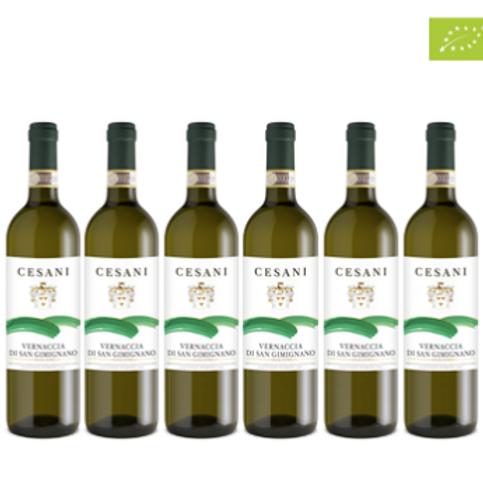 6 bottiglie - Vernaccia di San Gimignano 2020 - Cesani
