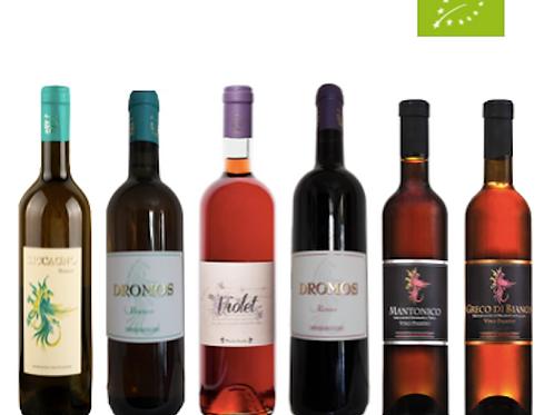"""6 bottiglie - Cassa mista Maria Baccellieri: """"LE PERLE IONICHE"""""""