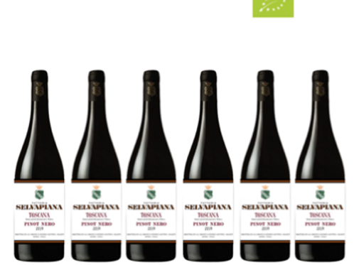 6 bottiglie - Toscana Pinot Nero 2015 - Fattoria Selvapiana