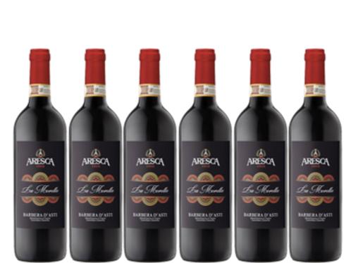 6 bottiglie - Barbera d'Asti LA MORETTA 2018  - Aresca