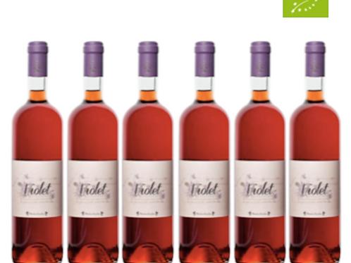 6 bottiglie - Vino Rosato VIOLET 2018 - Maria Baccellieri
