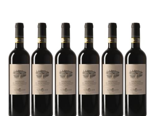 6 bottiglie - Brunello di Montalcino 2015 - Ventolaio