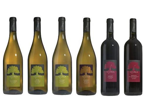 "6 bottiglie - Cassa mista Scubla: ""I COLLI ORIENTALI"""