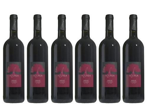 6 bottiglie - Friuli Colli Orientali Merlot 2019 - Scubla