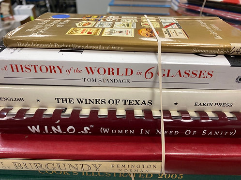 Cookbooks wine, Burgundy, Texas