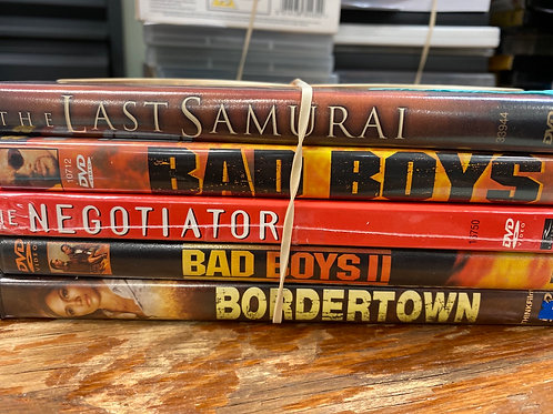 DVD- Bad Boys 1&2, The Last Samurai
