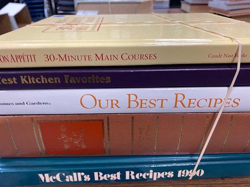 Cookbooks Better Homes & Gardens bon appétit McCall's