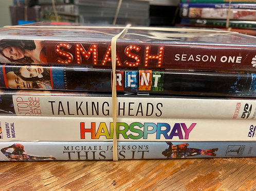 DVD- Rent, Hairspray, This Is It