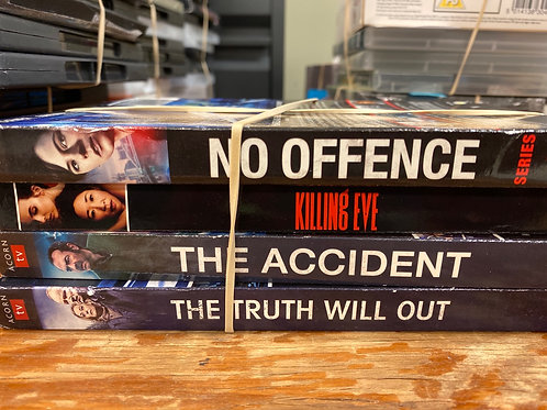 DVD- Killing Eve, No Offence