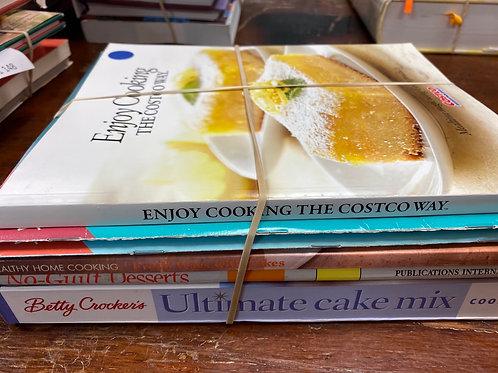 Cookbooks Costco, light desserts, Betty Crocker