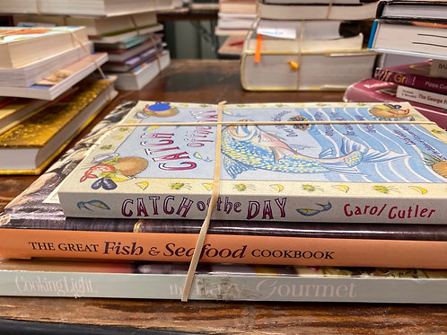 Cookbooks fish, seafood, Cooking Light