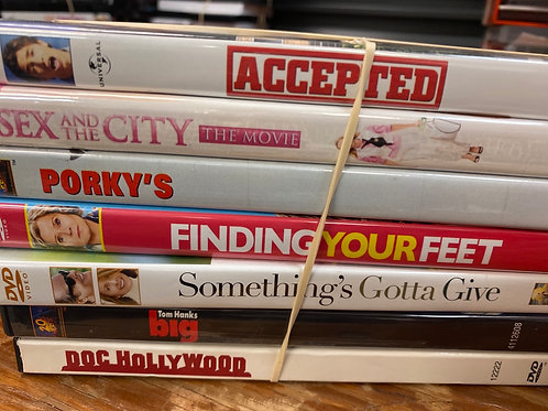 DVD- Big, Doc Hollywood, Sex and the City Movie