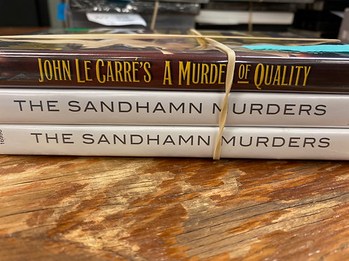 DVD- The Sandhamn Murders vol 1&2, Murder or Quality