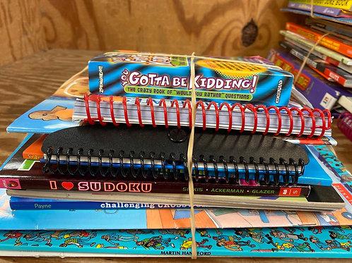 Games - soduku, crosswords, where's Waldo