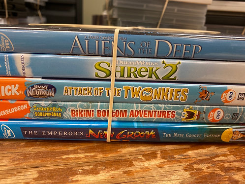 DVD- Shrek 2, The Emperor's New Groove