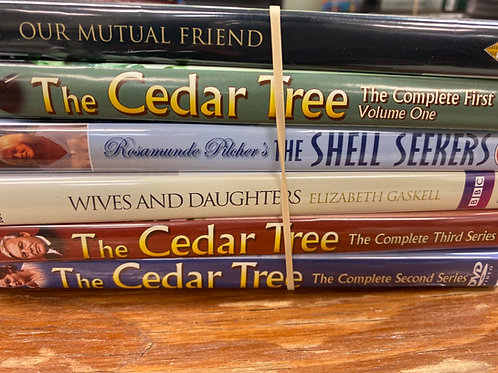 DVD- The Cedar Tree, Wives & Daughters