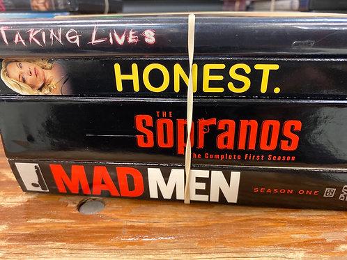 DVD-The Sopranos season1, Mad Men season1