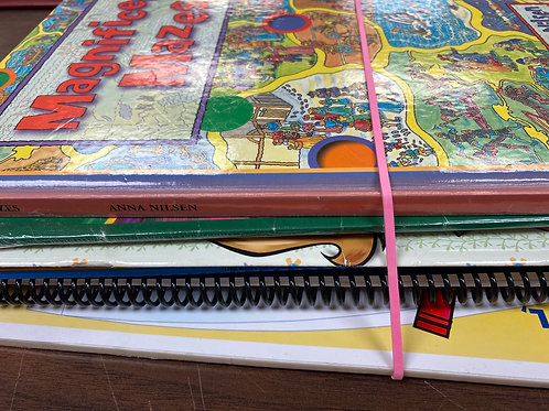 Games - mazes, coloring, crafts, art paper