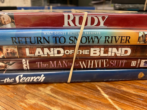 DVD- Rudy, The Search