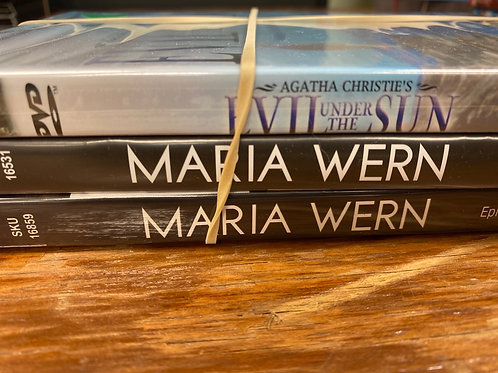 DVD- Maria Wern, Evil Under the Sun