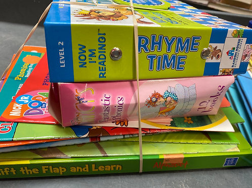 Early learning - rhyme, phonics, readers