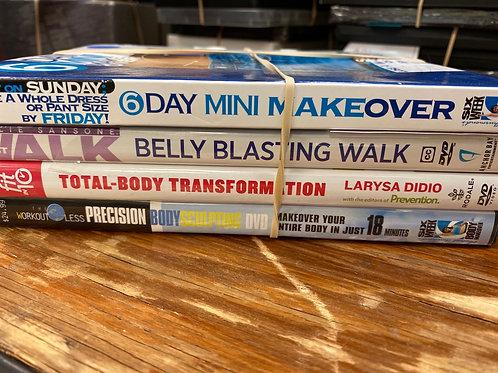 DVD- Belly Blasting Walk- Precision Body Sculpting