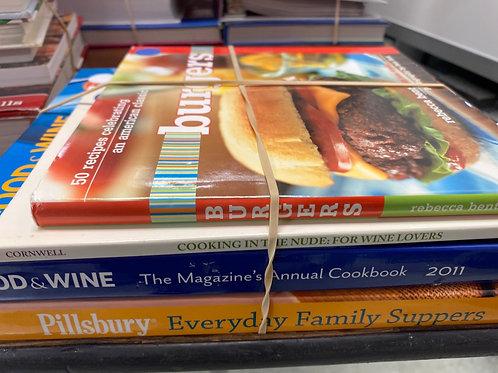 Cookbooks burgers. Food and Wine, Pillsbury