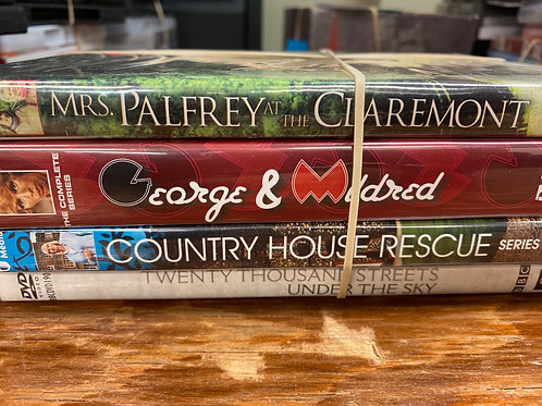 DVD- Country House Rescue season 1, George & Mildred