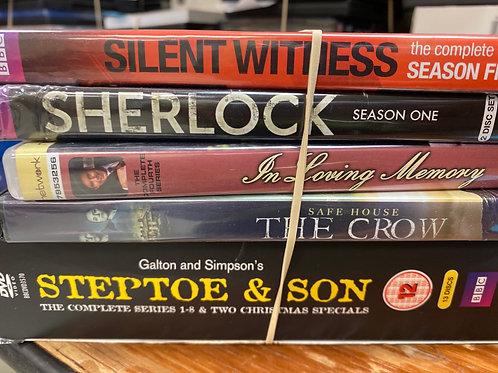 DVD- The Crow, Sherlock season1
