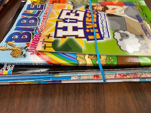 Games - Bible  coloring book,