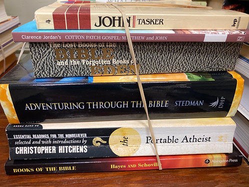 Religion - The Portable Atheist, Adventuring Through the Bible