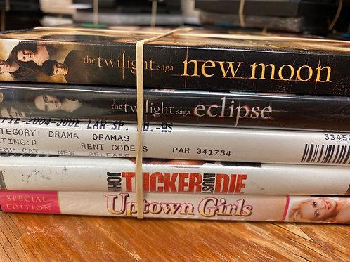 DVD- Twilight, Uptown Girls