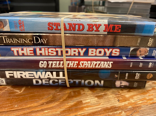 DVD-Stand By Me, Deception, Training Day