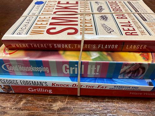 Cookbooks smoke, George Foreman, grilling