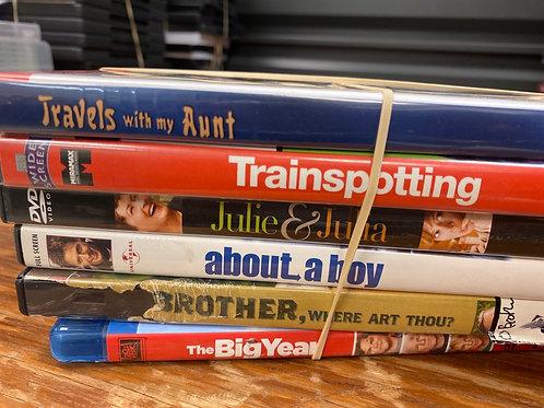 DVD- Brother Where Art Thou, Julie & Julia, About a Boy