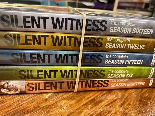 DVD- Silent Witness seasons 6,12,15,16,18