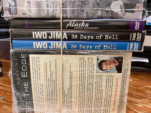 DVD-Iwo Jima, Anthony Robbins Get The Edge