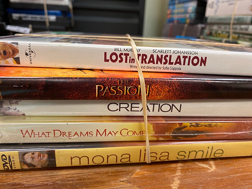DVD- The Passion, Mona Lisa Smile, Creation