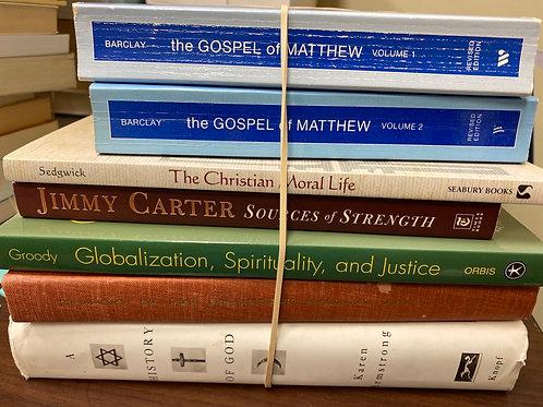 Religion - History of God, Jimmy Carter, Matthew