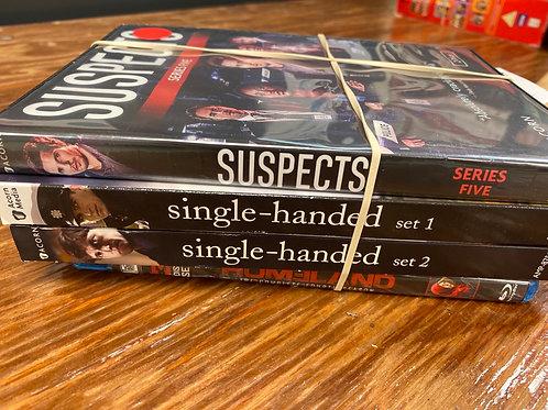 DVD- Suspects, Homeland