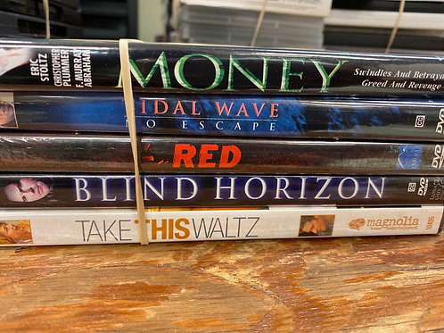DVD- Money, Red, Tidal Wave