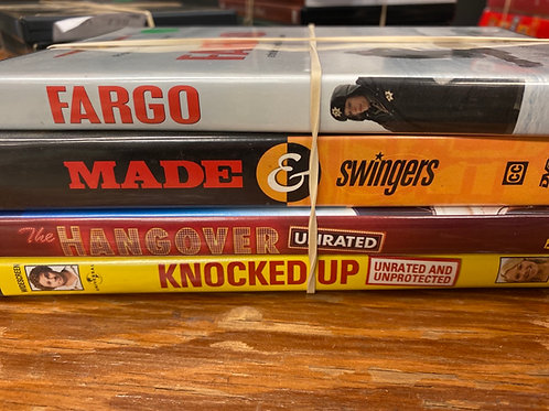 DVD- Fargo, The Hangover, Knocked Up