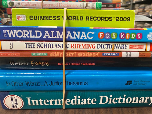References - research, almanac, writing
