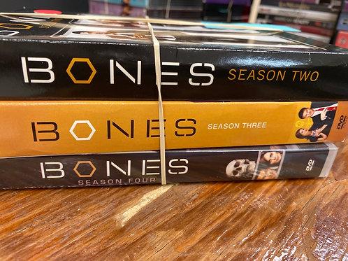 DVD- Bones seasons 2-4