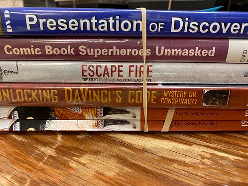 DVD- Escape Fire, Unlocking DaVinci's Code
