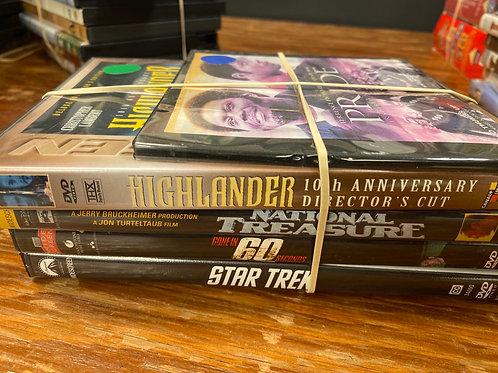 DVD- Pride, Highlander, National Treasure, Star Trek