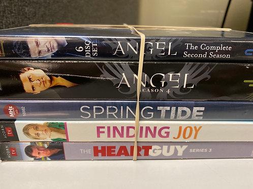 DVD- Angel season 2&4, Finding Joy