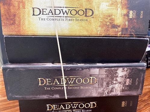 DVD - Deadwoos seasons 1-3
