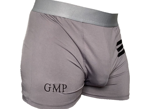 PRE PACKED Grey Athletic Boxer Briefs