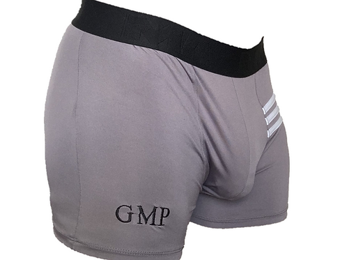 PRE PACKED Grey Athletic Boxer Briefs (MMA band)
